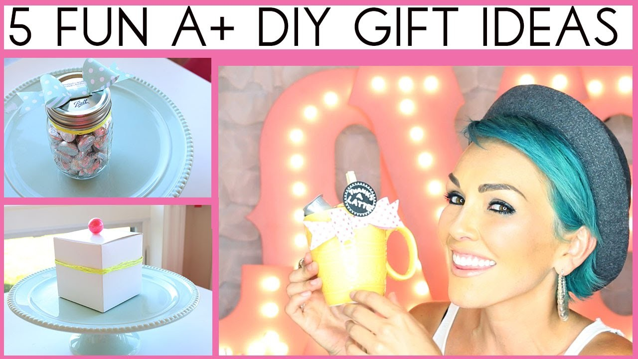 5 DIY Gift Ideas That Might Get You An A+