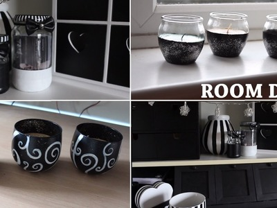 Black and White DIY Room!