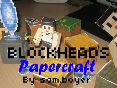 Blockheads Papercraft Official Trailer