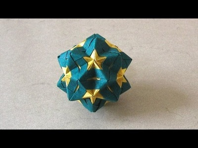 Christmas Origami Instructions: Star Sonobe (Maria Sinayskaya)