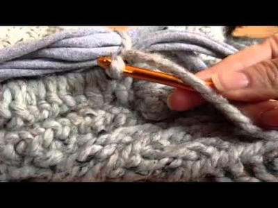 Coil Wrapping - crochet method