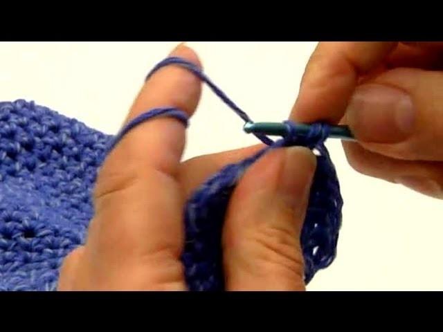 Crochet Baby Beanie Cap - Half Double Crochet : Crocheting Clothes for Kids