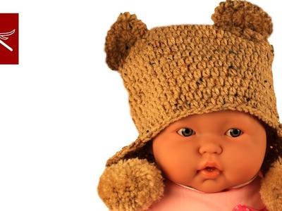Crochet Baby Hat - Bear Ears - Crochet Geek