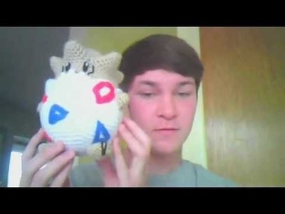 Crochet Pokemon Togepi Plush Pattern