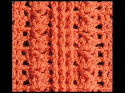 Crochet : Punto en Relieve # 3