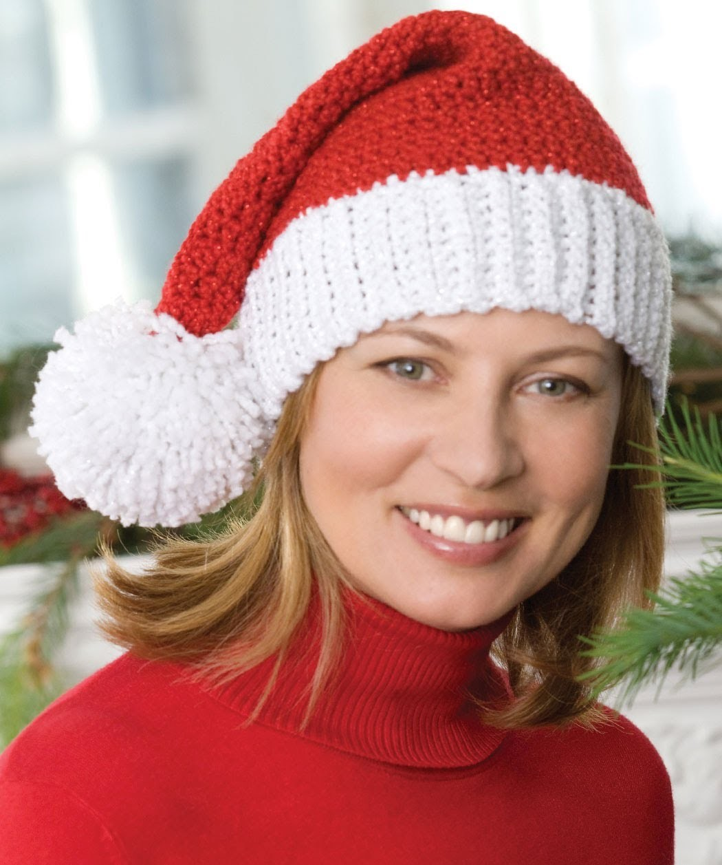 #Crochet Santa Hat -  Video One