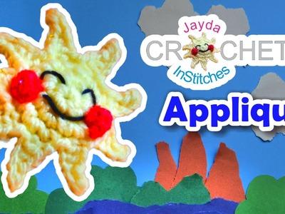 Crochet Sunshine! - Mini Amigurumi Applique & Scrapbooking Tutorial
