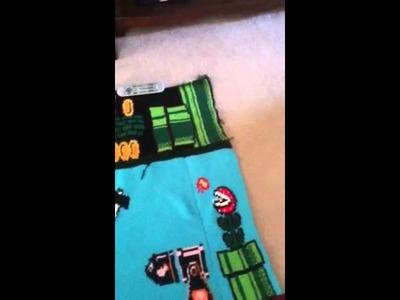 Crochet Super Mario Blanket (incomplete