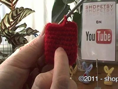 Crochet Triangle Bunny