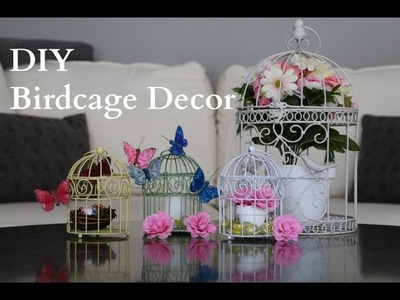 DIY Birdcage Decor