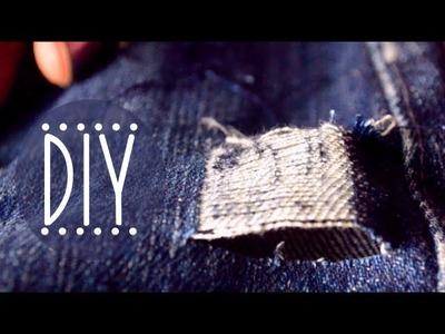 DIY Distressed Shorts   5 Ways to Distress Denim!