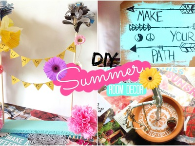 DIY Easy Summer Room Decor | Spirited Gal