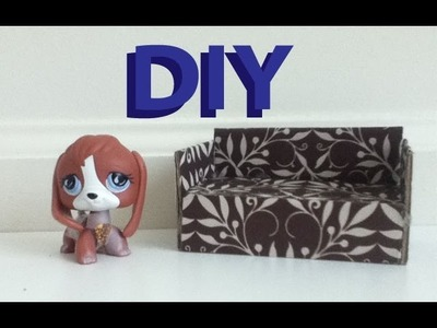 DIY Furniture: How To Make A LPS Couch