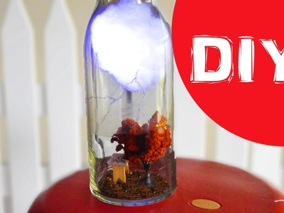 DIY Nightlight DIY Lighting DIY Cloud in a Jar DIY Home accent DIY Room Decor