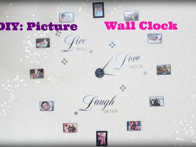 DIY: Picture Frame Clock