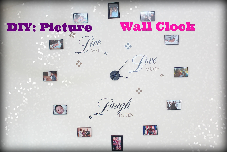DIY: Picture Frame Clock