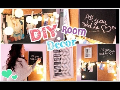 DIY Room Decor Ideas & Wall Display!
