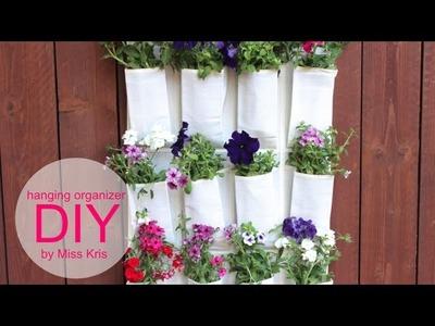 DIY Shoe Organizer Hanging Garden