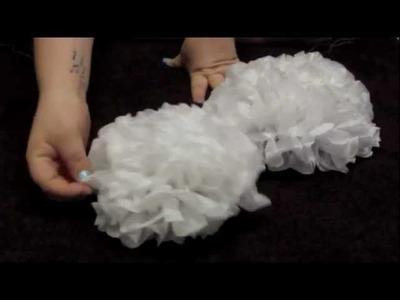 DIY: Tissue Paper Flowers.