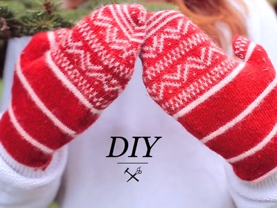 DIY WINTER MITTENS
