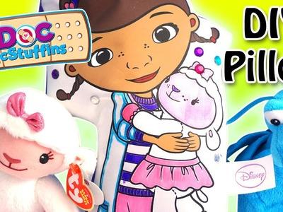 Doc McStuffins - Color N' Style Doc & Friend DIY Pillow with Lambie and Stuffy! - Disney Jr.