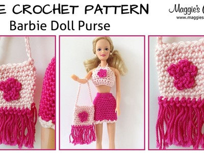 Doll Purse Free Crochet Pattern - Right Handed