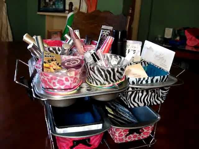 Dollar Tree DIY Organizer Completed For My Samples & Make Up Etc