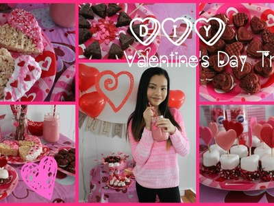 Easy DIY Valentine's Day Treats!