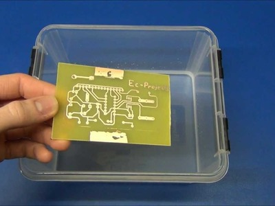 Ec-Projects - DIY Circuit Boards ( PCB ) Part 2: Toner Transfer
