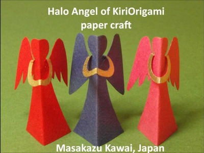 Halo Angel of Kiriorigami paper craft  (English 2013ver.)