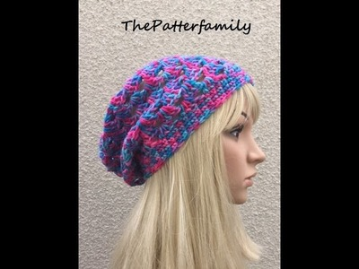 How to Crochet a Hat Pattern #19 │ by ThePatterfamily