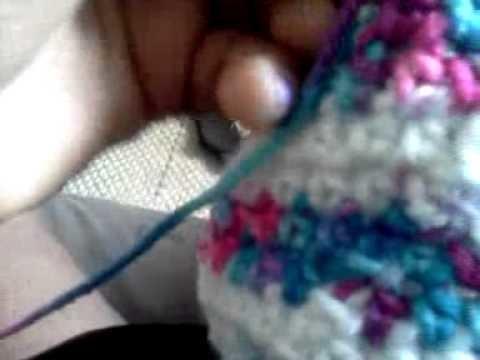 How to crochet adult socks part 5 part 2