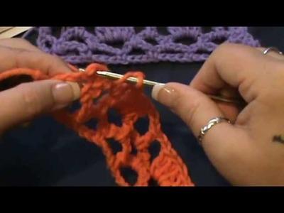 "How to Crochet the ""Block Trellis Stitch"""
