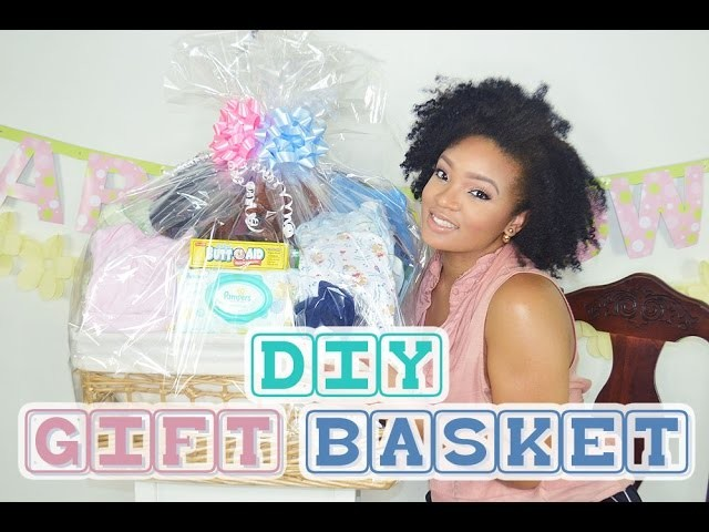 HOW TO.DIY GIFT BASKET | BABY SHOWER