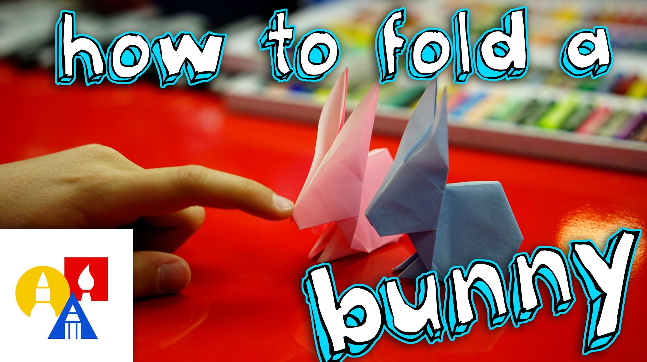 How To Fold An Origami Easter Bunny