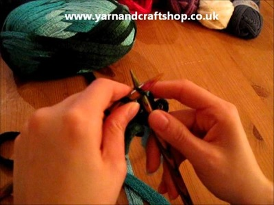 How to knit rico cancan or flamenco uni.wmv