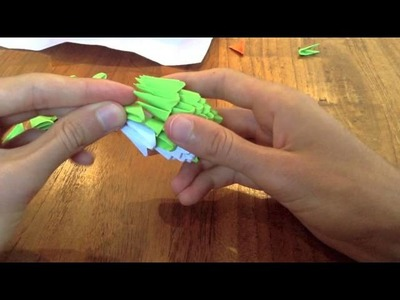 How to make a 3D Origami - Penguin