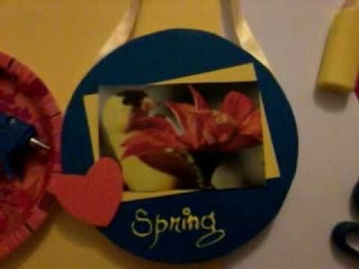 How to make aPaper plate craft  wall hanging