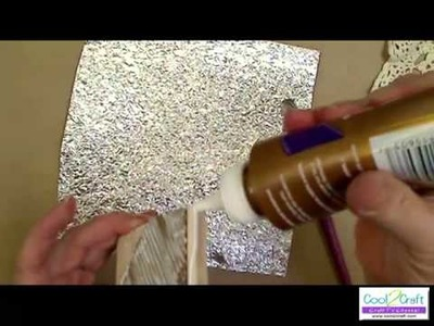 How to Make Look of Forged Metal with Aluminum Foil by EcoHe