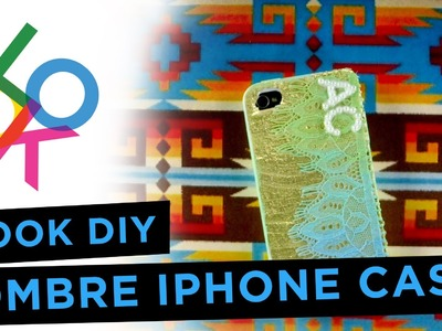 IPhone Case with Ombre Lace: LOOK DIY