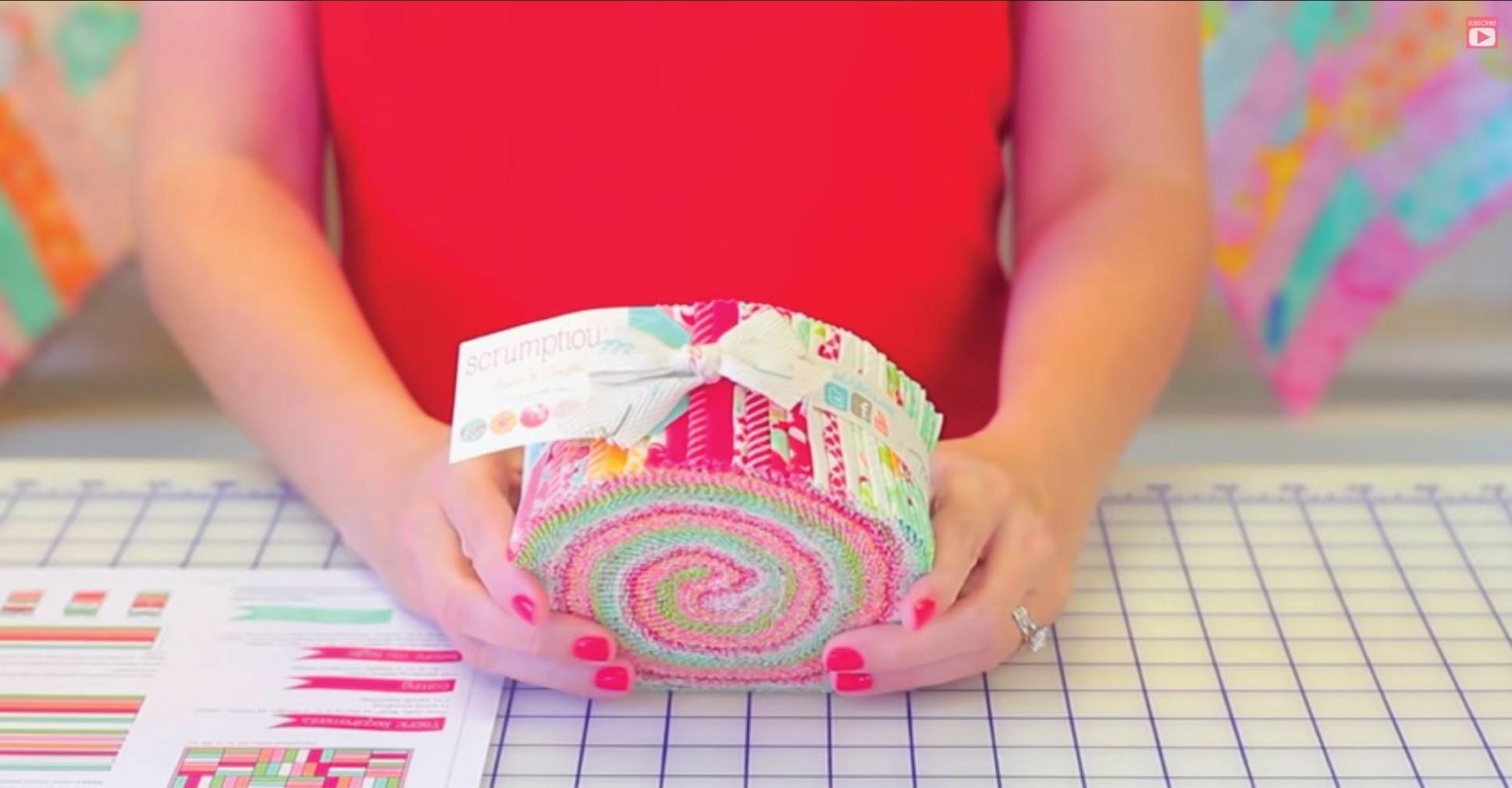 Jelly Roll Jam - Shortcut Quilt Series - Fat Quarter Shop