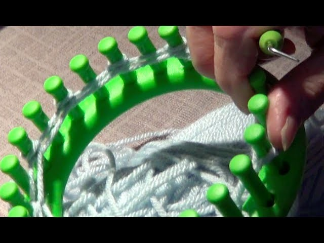 Knitting with Looms- Cast On