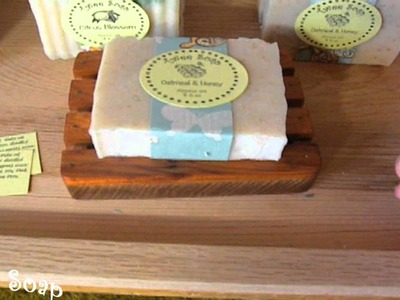 Labelling handmade Soap