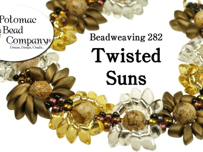 Make a 'Twisted Suns' Bracelet