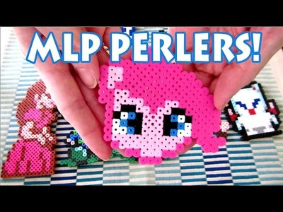 My Little Pony | Pinkie Pie Perler Bead Tutorial