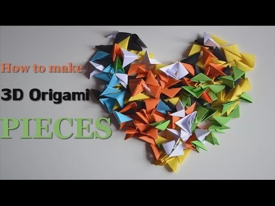 Origami Pieces - Size and Folding - DIY Tutorials - Giulia's Art