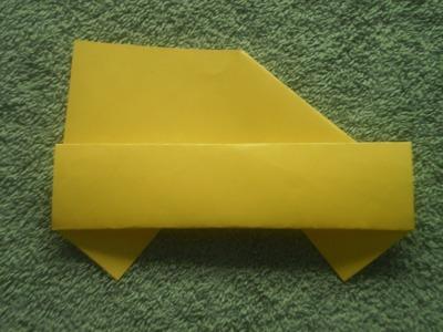 Origami Tutorial: Origami 2D Car