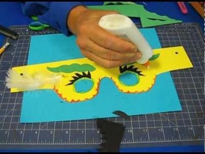 Paper & Scissors Rock!:  Halloween Craft- Goofy Goggles