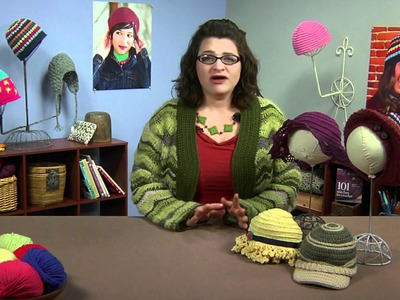 Preview Crochet Me Workshop: Design Your Own Crocheted Hat with Robyn Chachula Video