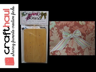 Product Review: Craft-Dee BowZ